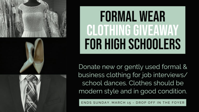 Formalwear clothing giveaway-2
